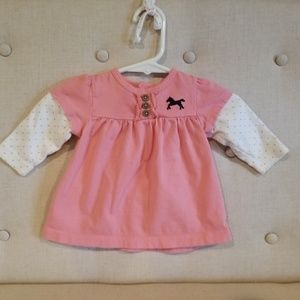 Carter's long sleeve top for baby